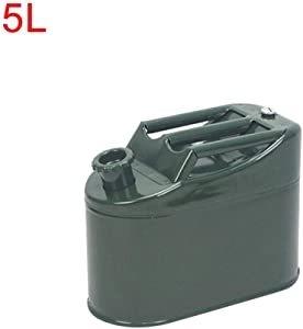 Nigle Car Oil Container Portable Fuel Oil Petrol Diesel Container Gas Tank Can Leak-Proof Oil Drum Container Emergency Backup for Motorcycle Truck trendy