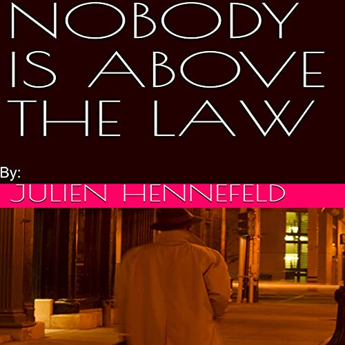『Nobody Is Above the Law』のカバーアート