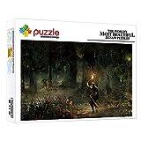 ZTCLXJ Puzzle 1000 Piezas para Adultos Niño Niña 1000 Piezas Puzzle Infantil Bosque De Fantasía Rompecabezas Educativos Juegos 20 X 15 Pulgada