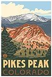 Northwest Art Mall Spieß Peak Colorado Travel Poster