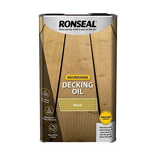 Ronseal Decking Oil Natural 5 Litre RSLDOCL5L