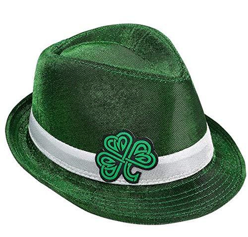 Rhode Island Novelty Green Celtic Shamrock Fedora