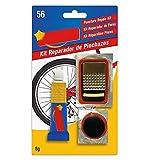 Pack 2 Kit repara pinchazos bicicleta, de gran calidad. Repara +10 pinchazos. Apto para cualquier tipo de bicicleta. Muy simple y sencillo de aplicar.