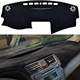 SPEEDWOW Dashboard Dash Board Cover Mat Carpet Compatible with 2007-2011 Toyota Camry