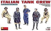 ■ ミニアート 【希少】 1/35 イタリア軍 戦車兵セット