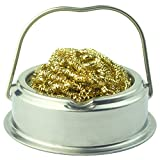 Give Away Anti-Skid mat;Soldering Iron Tip Cleaner with Brass Wire Sponge, No Water