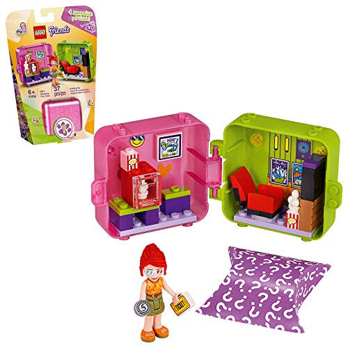 LEGO Friends Mia's Shopping Play Cube 41408 Building Kit, Includes a Collectible Mini-Doll, for Creative Fun, New 2020 (37 Pieces)