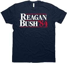 Daft Threads Vintage Regan & Bush 84' Campaign T Shirt & Sticker