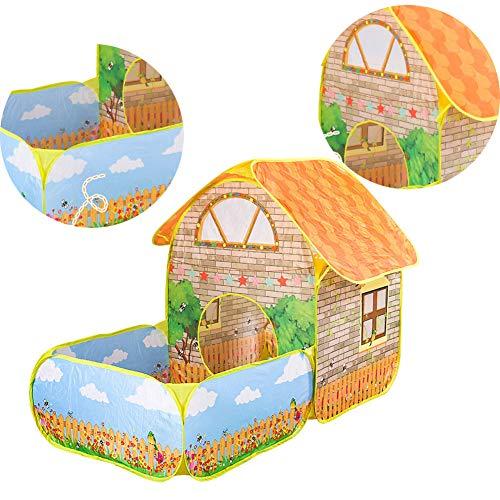 De Kinderen Spelen Indoor Baby Speelgoed Huis Oceaan Ball Pool Grote Ruimte Villa Tuinhuisje Prinses Kinderkamer Tent Spel Huis