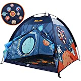 """Space World Kids Play Tent, Indoor & Outdoor Tent Playhouse for Boys, Girls & Children - 48"""" x 48"""" x 43"""""""
