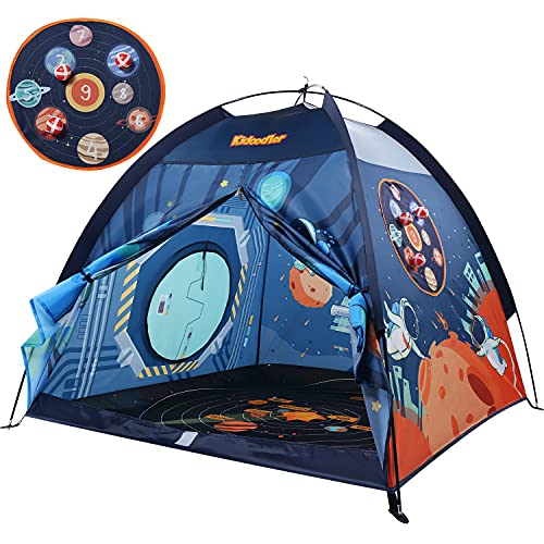 Space World Kids Play Tent, Indoor & Outdoor Tent Playhouse for Boys, Girls & Children - 48' x 48' x 43'