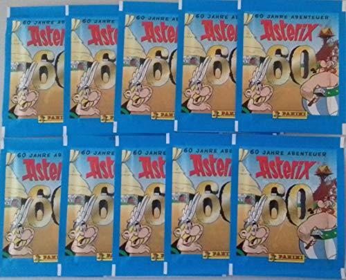 Panini 60 Jahre Asterix Abenteuer Sticker 10 Tüten / 50 Sticker