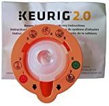 Keurig 4335457458 B01MXFTW88 2.0 Needle Cleaning Tool, kkk, Orange