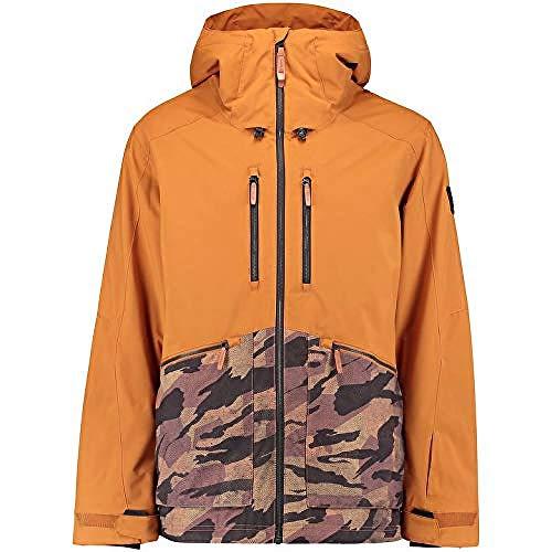 O'NEILL Pm Texture Jacket Chaqueta Hombre Con Capucha, Hombre, Glazed Ginger, XL