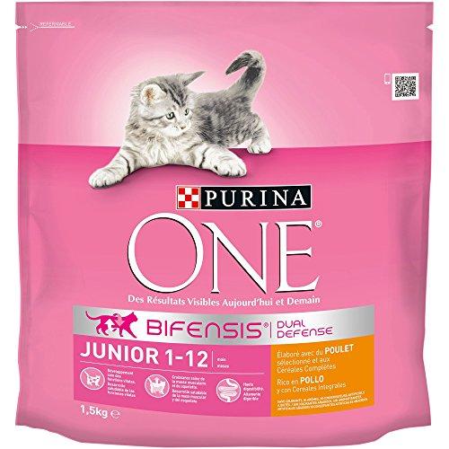 Purina One Junior de 1 à 12 mois - au Poulet et aux...