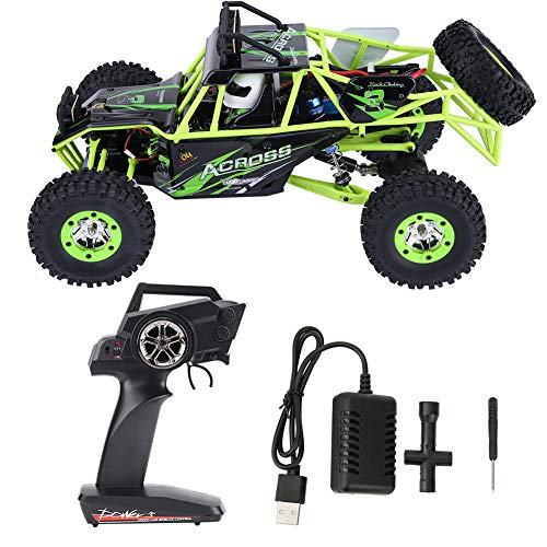 V GEBY 12428 1/12 RC Crawler Auto, Wltoys 12428 Upgrade Version 4WD 2,4 GHz 1/12 Elektrische RC Crawler Auto (EU 100-240 V)