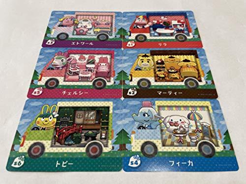 amiibo Card Sanrio Animal Crossing x All 6P Japan ver. Hello Kitty Complete