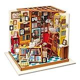 Diy Puppenhaus Weihnachten Kit Miniatur Haus Selber Bauen Zum Basteln Zubehör Holz Lernspielzeug...