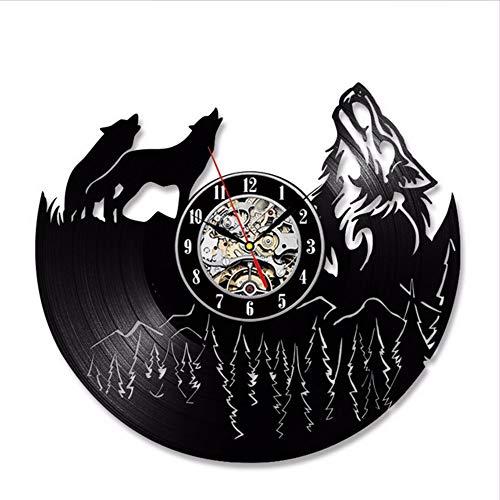 Hollow LED Disco de Vinilo Reloj único Dormitorio Cocina decoración de la...