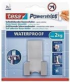 Tesa 59709-00000-00 Soporte para cuchila de afeitar acero + tiras, Waterproof