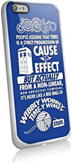 Big Ball of Wibbly Wobbly Timey Wimey Stuff for Iphone and Samsung Galaxy Case (iphone 6 / 6s white)