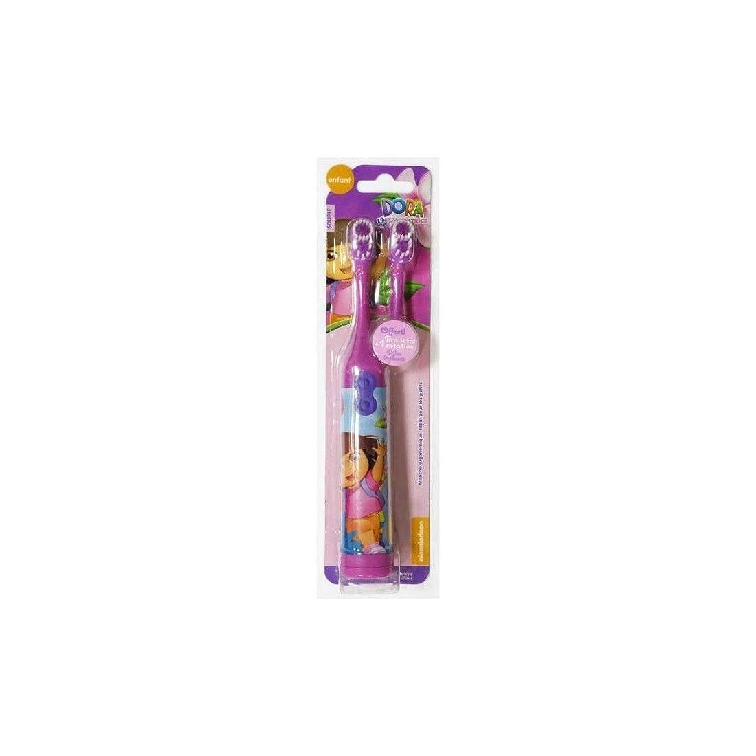 半導体おとなしいエンドウドーラ子供用電動歯ブラシ(DORA Electric spin Toothbrush for Kids)