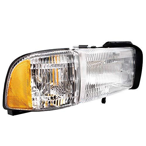 Brock Replacement Set Driver and Passenger Halogen Headlights