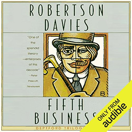 Fifth Business     The Deptford Trilogy, Book 1              Auteur(s):                                                                                                                                 Robertson Davies                               Narrateur(s):                                                                                                                                 Marc Vietor                      Durée: 9 h et 59 min     67 évaluations     Au global 4,3