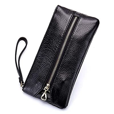 Women's Wristlet Key Holder Wallet Clutch-Welegant Multi-Purpose Zipper Purse Pouch Handbag with Key Ring Hooks & Hand Strap