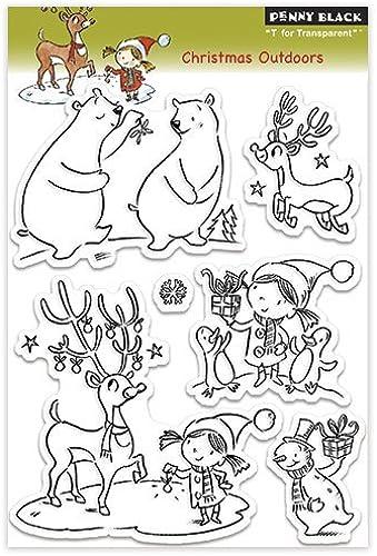 nueva gama alta exclusiva Penny De colour negro 30-125 de Navidad salir al aire aire aire libre del sello claro by Penny - De colour negro  buena reputación