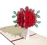 Biglietto per Valentine's Day,Deesos Biglietto d'auguri per gli innamorati, Biglietto di a...