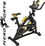 Zoom IMG-1 nero sports bluetooth cyclette aerobica
