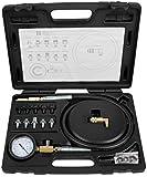 KS Tools 150.1920 - Set di diagnosi per la pressione dell'olio, con adattatore, 0-10 bar...
