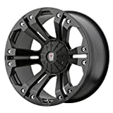xd wheels 22 - XD Series by KMC Wheels XD778 Monster Matte Black Wheel (18x9
