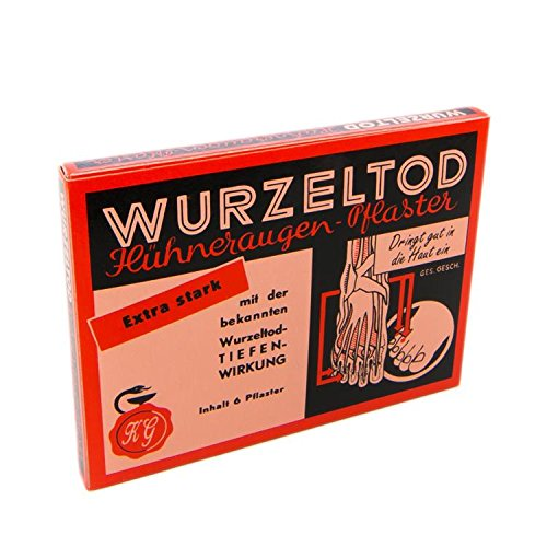WURZELTOD HUEHNERAUGENPFLASTER (6 ST)