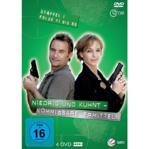 Niedrig & Kuhnt - Kommissare ermitteln: Staffel 1, Folge 41 bis 60 (4 DVDs)