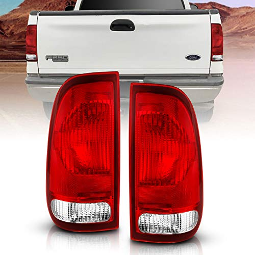AmeriLite for Ford F-Series F150 F250 F350 SuperDuty Clear Red Factory Style OE...