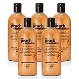 BRUBAKER Happiness'My Peach Temptations' 5x Duschgel à 520 ml Set Pfirsich