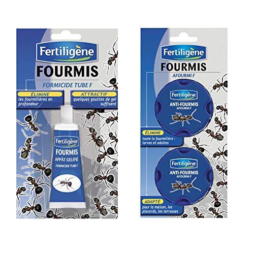 FERTILIGENE Anti Fourmis (1 Tube Gel 30 GR + 2 boites Anti Fourmis)