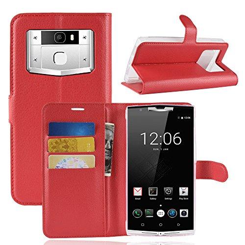 Litao-Case CN Hülle für OUKITEL K10000 pro hülle Flip Leder + TPU Silikon Fixierh Schutzhülle Case 6