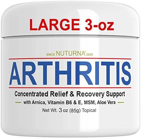 Arthritis Cream Joint Tenderness Stiffness Support Maximum Strength Fast Acting Relief Cream product image