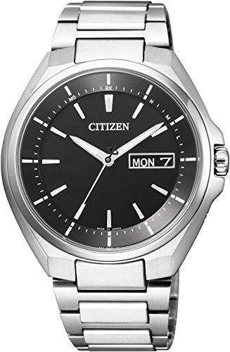 [シチズン]CITIZEN 腕時計 ATTESA アテッサ Eco-Drive エコ・ドライブ 電波時計 デイデイト表示 AT6050-54E メンズ