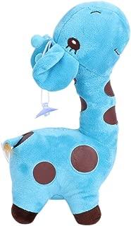 NAMI_STR - 25CM Unisex Cute Plush Giraffe Soft Toy Animal Dear Doll Baby Child Christmas Birthday Happy Colorful Stuffed Animal Gifts (Blue)