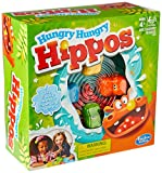 Toys and Games Hungry hippos game is marble-chomping, hippo-feeding fun Includes 4 hippo heads and bodies plus marbles for them to chomp Storage is a snap with the included marble storage cover For 2 to 4 players Country of Origin: India