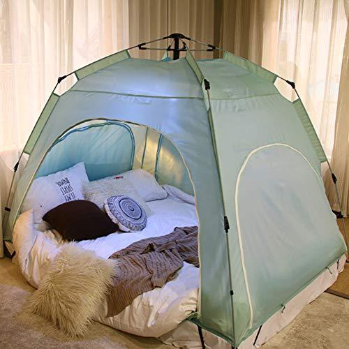 YXZN Bettzelt Tragbares Pop up Außenzelt Gemütlicher Schlaf im zugigen Innenzelt...