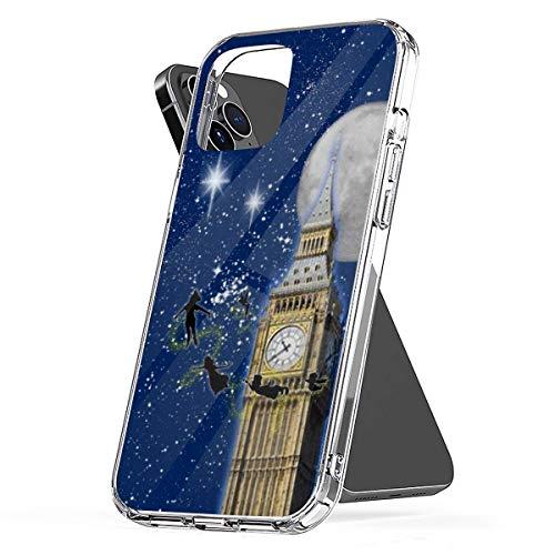 Peter Pan-Follow Me to Neverland Compatibile con Custodie per Telefoni Cover iPhone 12/11 Pro Max 12 mini SE X/XS Max XR 8 7 6 6s Plus Custodie