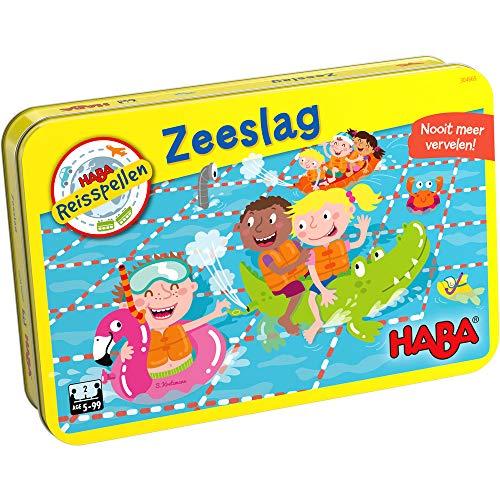 Spel - Reisspel - Zeeslag - Magnetisch - In blik - 5+