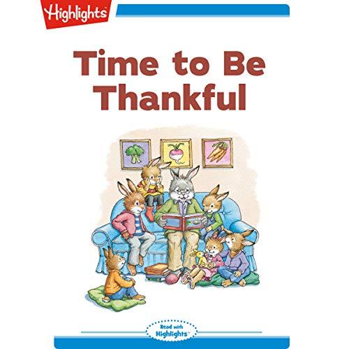 Time to Be Thankful copertina