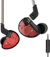 KZ AS10 Pure 5 Balanced Armature 5BA Earphone, Musician in Ear Monitor Headphone High Fidelity HiFi Headset (with Microphone, Black)