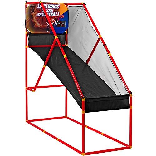 Family Games 37390 - Basketball mit Batteriebetrieb mit Punkteanzeiger/Musik